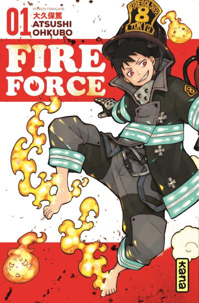 Fire Force tome 1